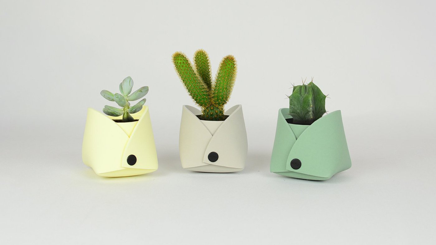 EvaSeed Triplet - Small Flower Pots by Lommer Design